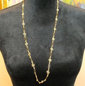 """JCREW FACTORY GOLD CHAINLINK NECKLACE 31"""""""